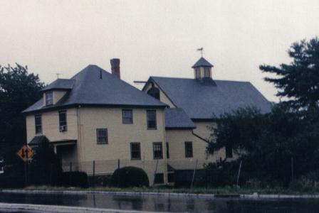 Picture of ACCoH Parsonage and barn from Broadway in Haverhill